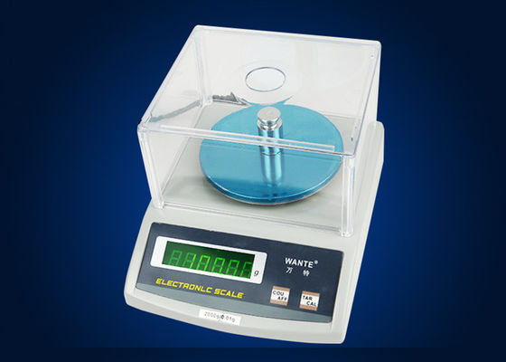Engineering Plastic Electronic Scale / Electronic Weighing Machine , Capacity 0.01g