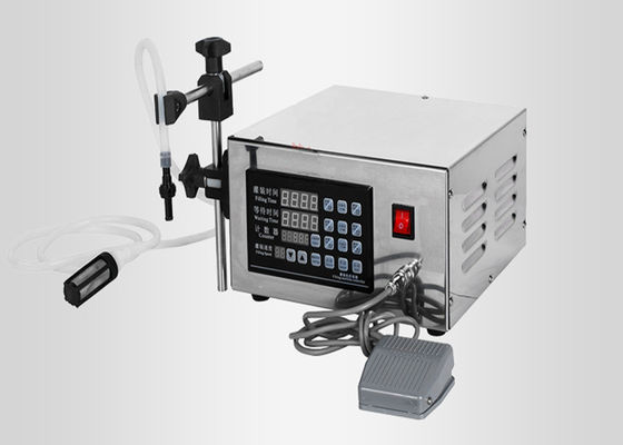 Automatic Pharmaceutical Process Equipment Small Sized Liquid Filling Machine